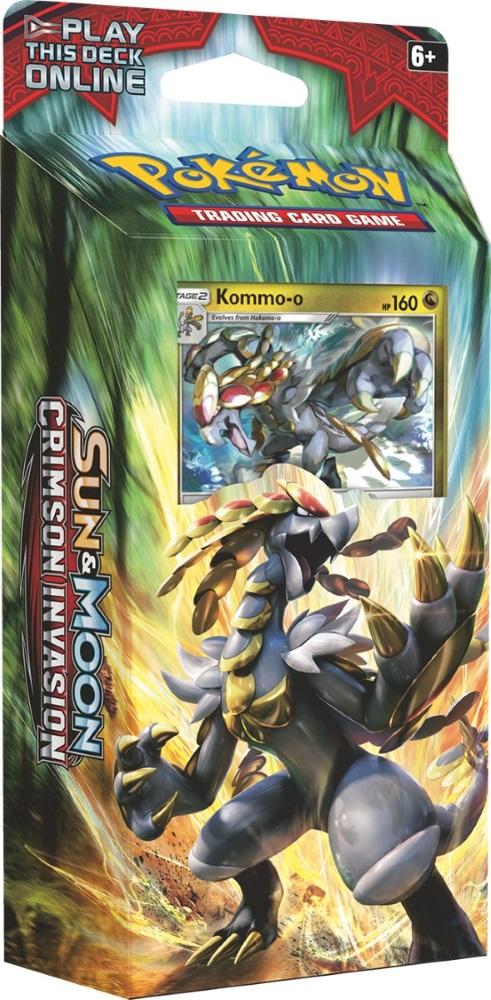 Коллекционная карточная игра Pokemon Sun &amp; Moon «Crimson Invasion»: тематическая колода Clanging ThunderНайнтэйлс региона Алола остается ледяным, а его друзья очень горячие! Противоположности притягиваются, когда вы объединяете Огненные и водные типы, предлагая два пути к победе. С тематической колодой «Clanging Thunder» вы всегда будете в выигрышной позиции!<br>