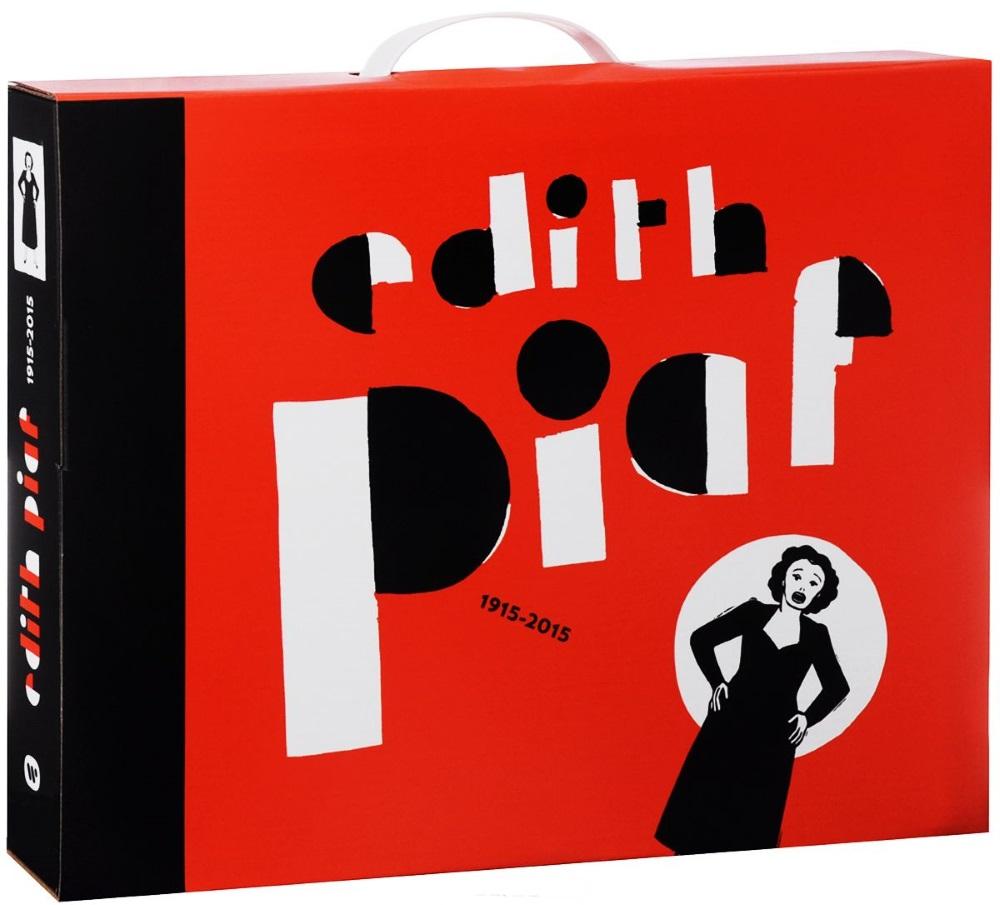 Edith Piaf – 1915–2015 (20 CD + LP)Лимитированное нумерованное подарочное издание Edith Piaf – 1915–2015 оформлено в виде книги в тканевом переплете, которая содержит 3 разворота-панорамки, 6 листов с конвертами для дисков и 32-страничный буклет с дополнительной информацией на английском и французском языках.<br>