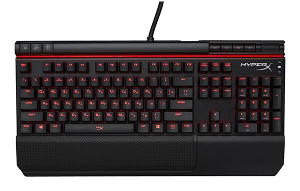 Клавиатура HyperX Alloy Elite проводная игровая механическая (Cherry MX Blue) для PCКлавиатура HyperX Alloy Elite имеет яркий и оригинальный внешний вид, благодаря уникальной световой вставке.<br>