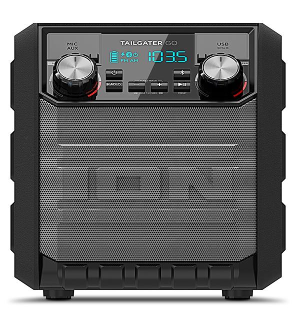 Колонка ION Audio Tailgater Go беспроводнаяION Audio Tailgater GO - компактная переносная звуковая система с повышенным классом влагозащищенности. Tailgater GO принимает Bluetooth-сигнал от смартфонов или планшетов, работающих на Android и iOS.<br>