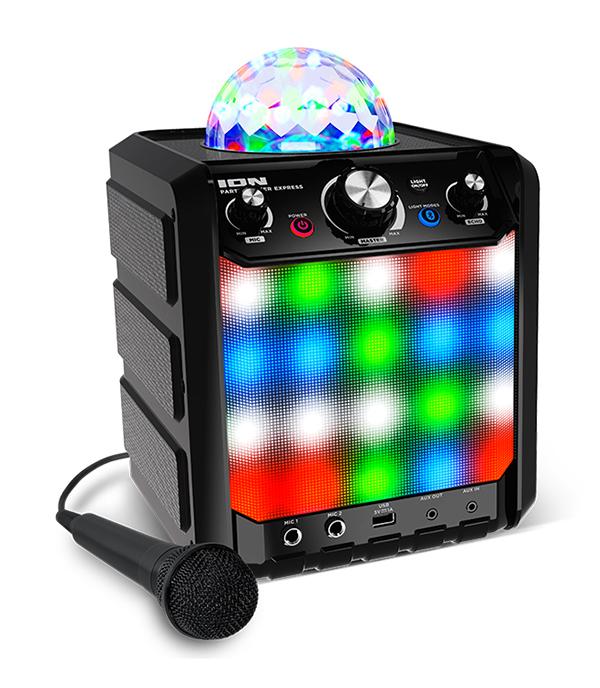 Колонка ION Audio Party Rocker Express беспроводнаяЕще больше возможностей – за еще меньшую цену с Party Rocker Express.<br>