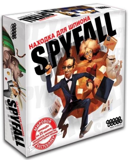 Настольная игра Находка для шпиона (2-е издание)