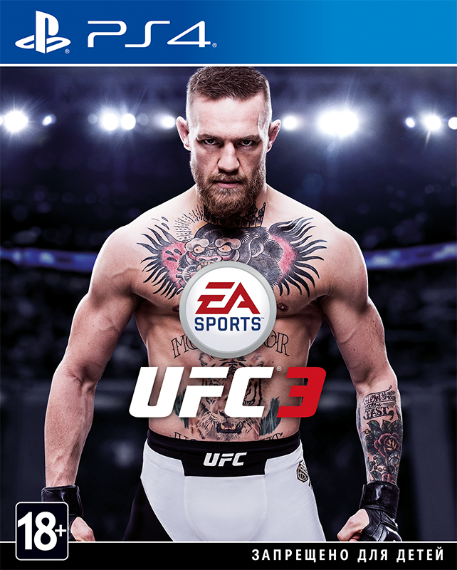 UFC 3 [PS4]Закажите игру UFC 3 до 17:00 часов 31 января 2018 года и получите в подарок: одного арендованного бойца чемпионского издания на выбор и приём на пять поединков в режиме UFC 3 Ultimate Team, пять премиальных наборов и 500 очков UFC, которые помогут вам создать собственную команду Ultimate Team.<br>