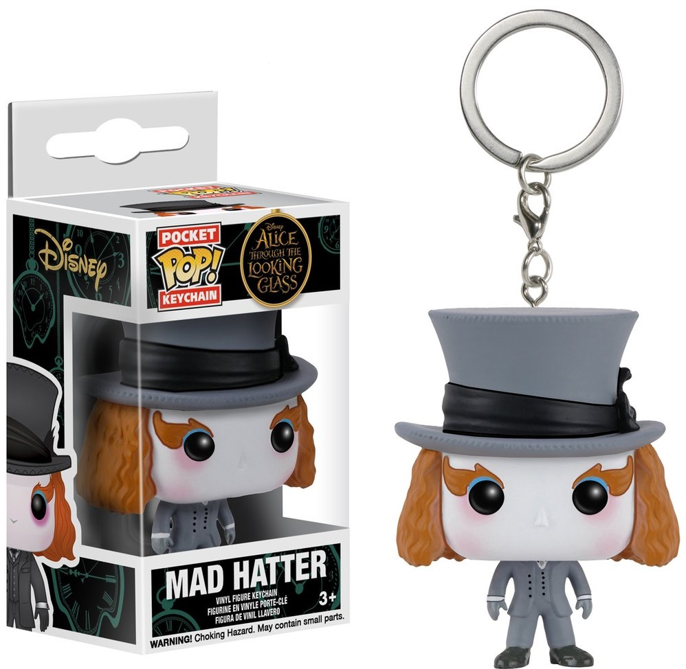 Брелок Funko POP Alice Through The Looking Glass: Mad Hatter (9,5 см) мягкая игрушка alice through the looking glass red queen 10 см
