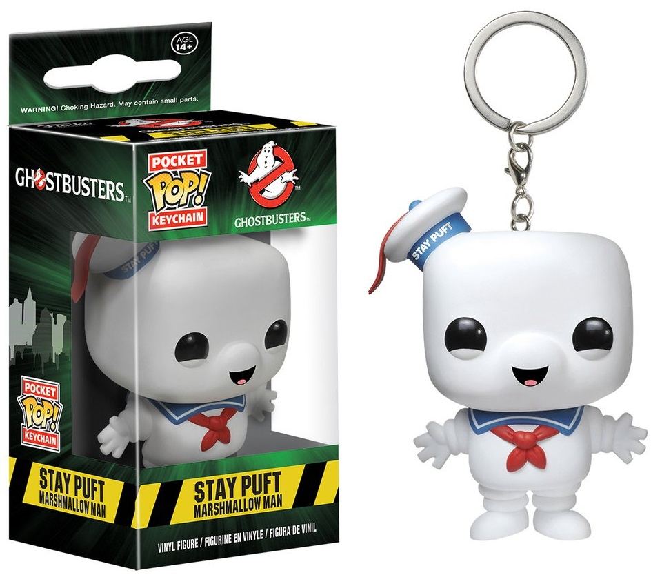 Брелок Funko POP Ghostbusters: Stay Puft (9,5 см)