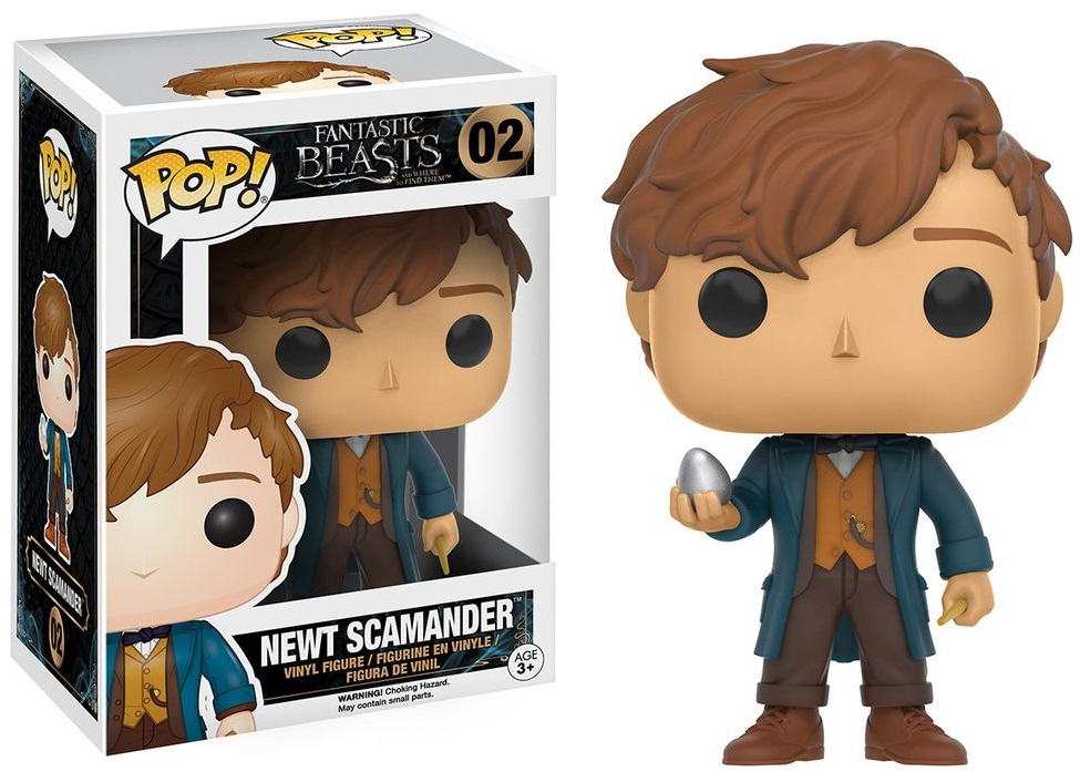 Фигурка Funko POP Fantastic Beasts And Where To Find Them: Newt Scamander With Egg (9,5 см) купить