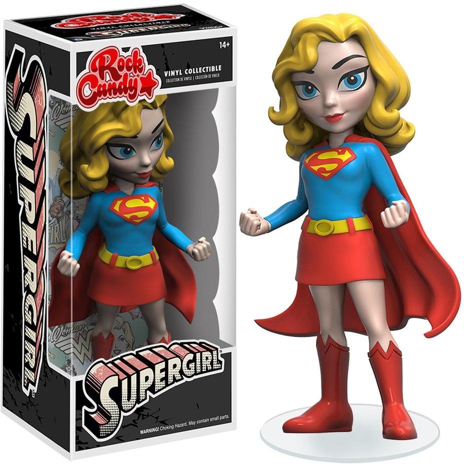 Фигурка Rock Candy: Supergirl (12,5 см)Фигурка Rock Candy: Supergirl создана по мотивам популярного комикса и воплощает собой Супердевушку, подругу Супермена.<br>