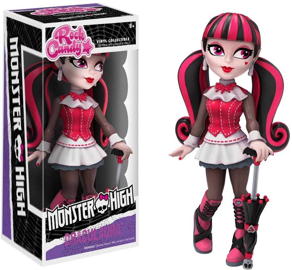 Фигурка Rock Candy Monster High: Draculaura (12,5 см)Фигурка Rock Candy Monster High: Draculaura из американской серии фэшн-кукол, созданной Гарретом Сэндером и проиллюстрированной Келли Райли.<br>