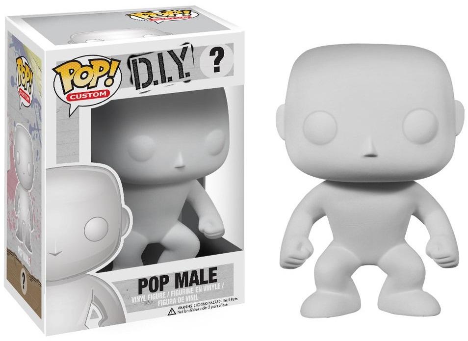 Фигурка Funko POP Custom D.I.Y.: Male (9,5 см)Фигурку Funko POP Custom D.I.Y.: Male вы сможете сами раскрасить, как пожелаете. Придайте ей уникальный вид и спешите похвастаться собственным творением!<br>