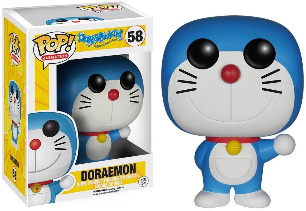 Фигурка Funko POP Animation Doraemon: Doraemon (9,5 см)Фигурка Funko POP Animation Doraemon: Doraemon создана по мотивам аниме-сериала, в котором кот-робот Дораэмон переместился во времени из XXII века, чтобы помочь школьнику по имени Нобита Ноби.<br>