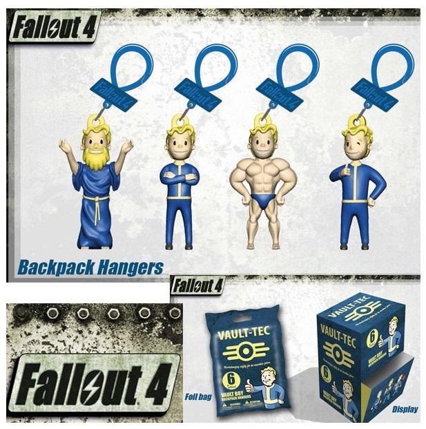 Брелок Fallout: Wave 1 (в ассортименте) (6 см)