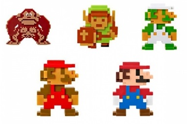 Набор фигурок World Of Nintendo (5 в 1) (6 см)Набор фигурок World Of Nintendo создан по мотивам популярных видеоигр компании Nintendo.<br>