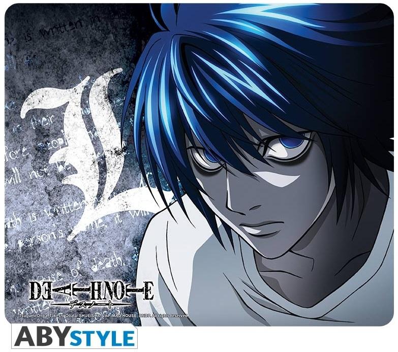 Коврик для мыши Death Note: LКоврик для мыши Death Note: L создан по мотивам манги и сериала «Тетрадь смерти», на нем изображен величайший в мире детектив L.<br>