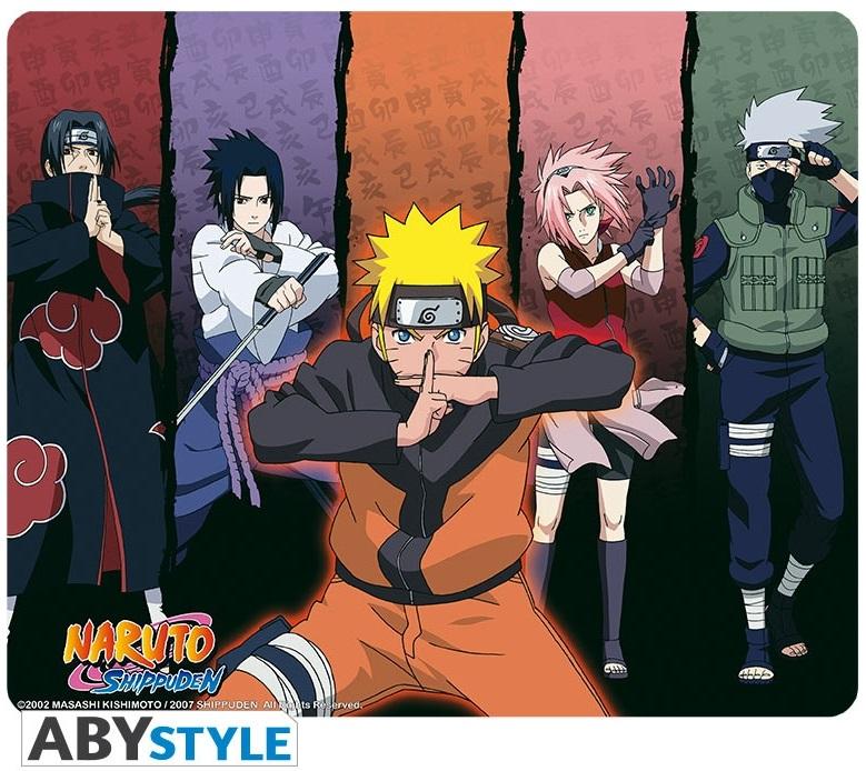 Коврик для мыши Naruto ShippudenКоврик для мыши Naruto Shippuden по мотивам аниме и манги «Наруто» с изображением основных героев.<br>