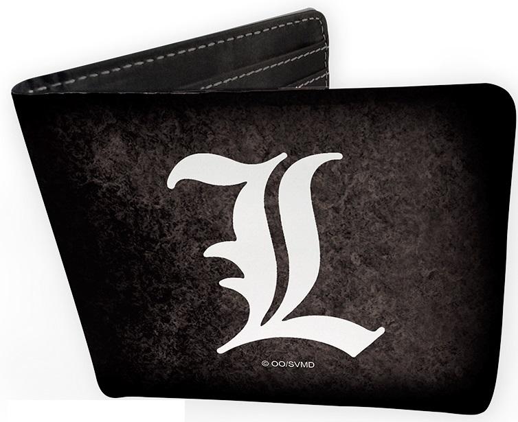 Кошелек Death Note: L SymbolКошелек Death Note: L Symbol создан по мотивам манги и сериала «Тетрадь смерти», на нем изображен знак величайшего в мире детектива L.<br>