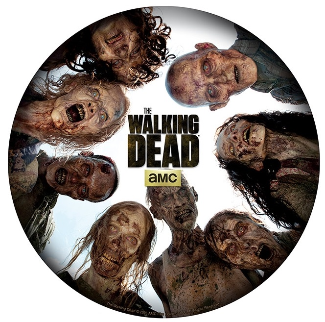 Коврик для мыши The Walking Dead: Round Of Zombies худи print bar the walking dead