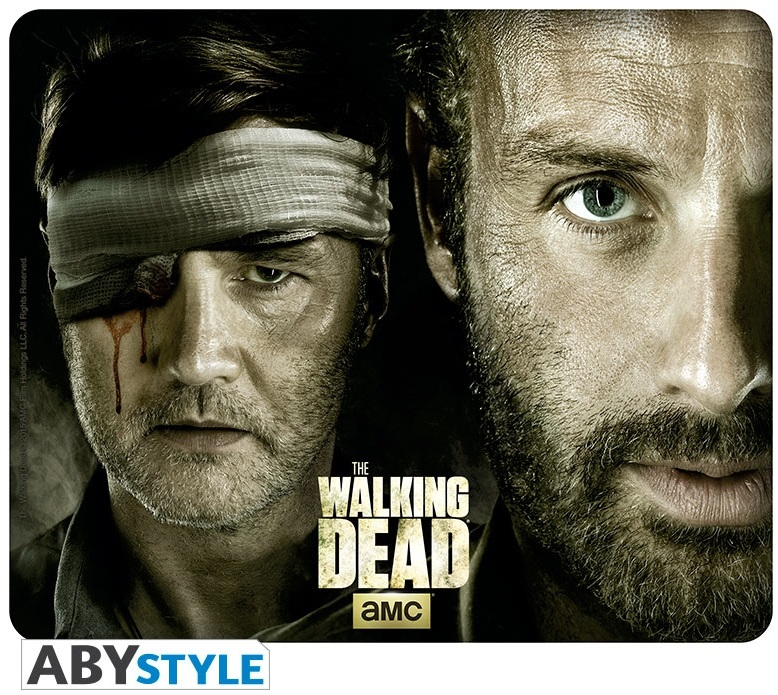 Коврик для мыши The Walking Dead: Rick Vs. The Governor the walking dead the fall of the governor part one
