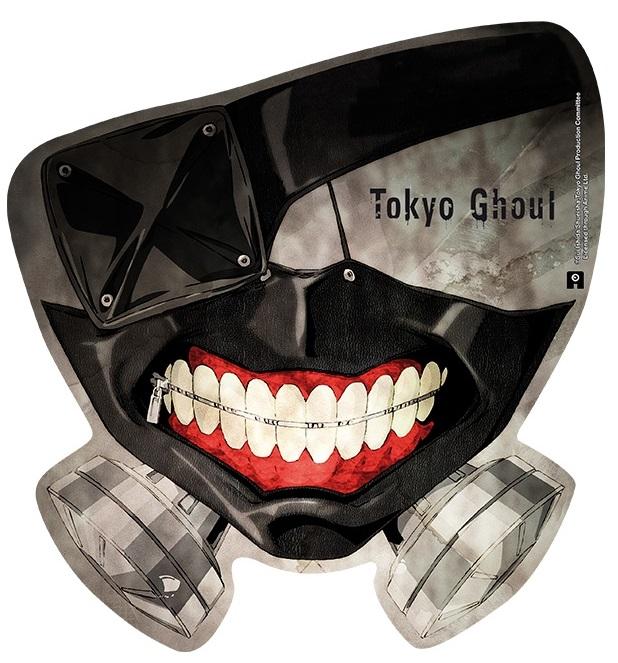 Коврик для мыши Tokyo Ghoul: MaskКоврик для мыши Tokyo Ghoul: Mask создан по мотивам фантастической манги авторства Суи Исиды, рассказывающей о студенте университета, которому пересаживают органы одного из сильнейших гулей, чтобы спасти ему жизнь.<br>