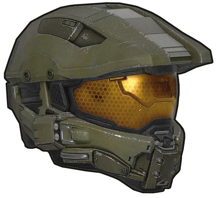 Коврик для мыши Halo: Master Chief Helmet коврик для мышки printio halo master chief хэйло мастер чиф