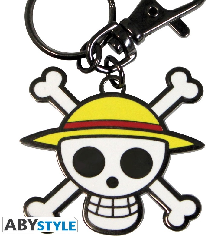 Брелок One Piece: Skull Luffy anime one piece wcf luffy brook chopper sanji franky robin usopp pvc figures collection model toys 6 8cm 7pcs set