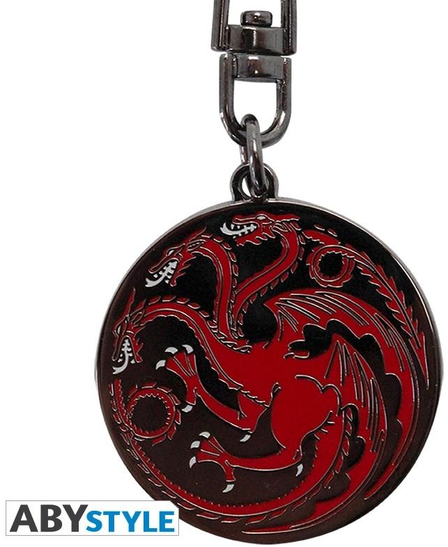 Брелок Game Of Thrones: TargaryenБрелок Game Of Thrones: Targaryen по мотивам американского драматического телесериала, основанного на цикле романов «Песнь Льда и Огня» Джорджа Р. Р. Мартина.<br>