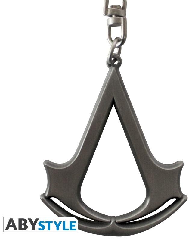 Брелок Assassins Creed: 3D CrestБрелок Assassins Creed: 3D Crest в виде логотипа игры создан по мотивам игры Assassins. С гордостью прикрепите этот Крест Ассасинов, истинный символ Братства, к вашим ключам.<br>