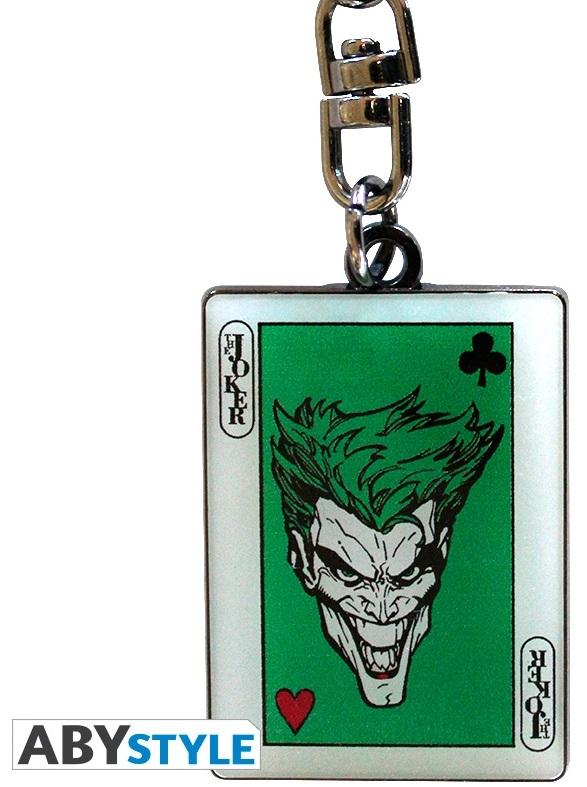 Брелок DC Comics: The Joker CardБрелок DC Comics: The Joker Card создан по мотивам вселенной DC Comics и выполнен в виде карты Джокера.<br>