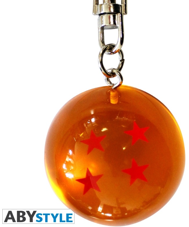 Брелок Dragon Ball Z: Dragon BallБрелок Dragon Ball Z: Dragon Ball создан по мотивам манги, созданной Акирой Ториямой. Брелок выполнен в виде хрустального шара с четырьмя звездами Гоку.<br>