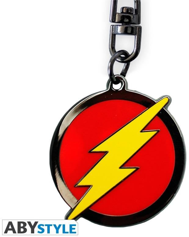 Брелок DC Comics: Flash LogoБрелок DC Comics: Flash Logo создан по мотивам вселенной DC Comics и выполнен в виде логотипа одного из самых известных супергероев – Флеша.<br>