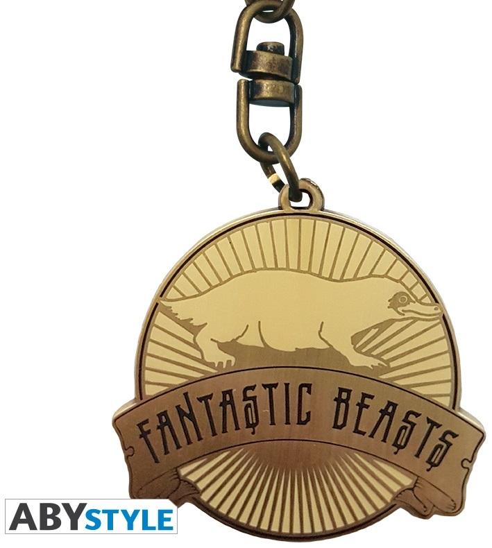 Брелок Fantastic Beasts: NifflerБрелок Fantastic Beasts: Niffler по мотивам фильма «Фантастические твари и где они обитают», рассказывающего о приключениях писателя Ньюта Скамандера в Нью-Йоркском секретном обществе волшебниц и волшебников.<br>