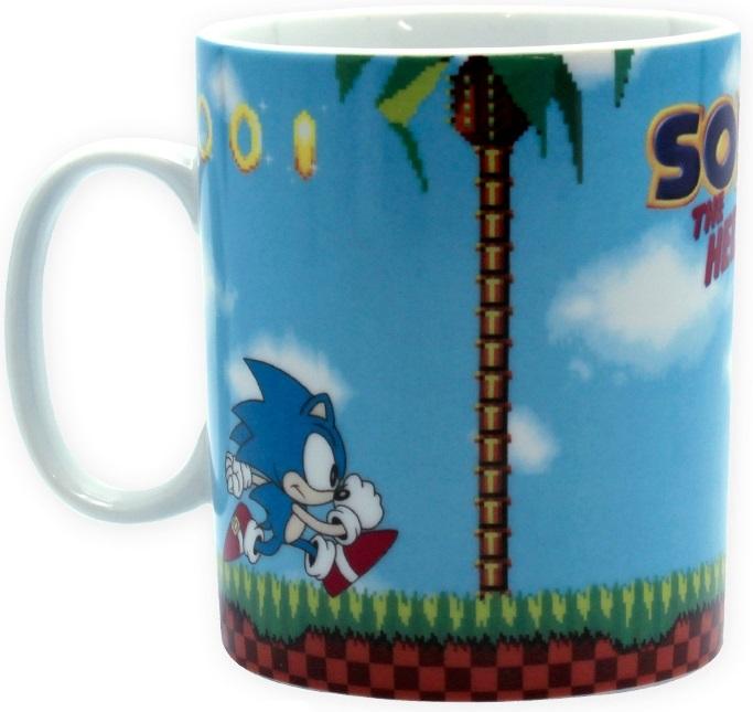Кружка Sonic: Green Hills Level (460 мл)Кружка Sonic: Green Hills Level создана по мотивам популярной серии компьютерных игр Sonic the Hedgehog.<br>
