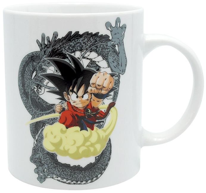Кружка Dragon Ball: Goku &amp; Shenron (320 мл)Кружка Dragon Ball: Goku &amp;amp; Shenron создана по мотивам аниме-сериала, адаптации последних 325 глав манги Акиры Ториямы «Жемчуг дракона».<br>