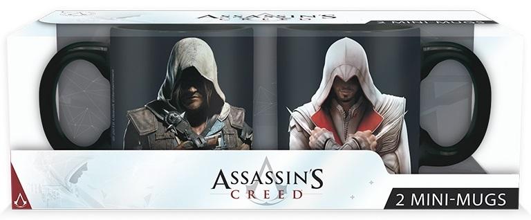 Набор кружек Assassins Creed: Ezio &amp; Edward (110 мл)Набор кружек Assassins Creed: Ezio &amp;amp; Edward создан по мотивам популярной компьютерной игры. Теперь вы готовы сражаться с тамплиерами с Эцио и Эдвардом!<br>
