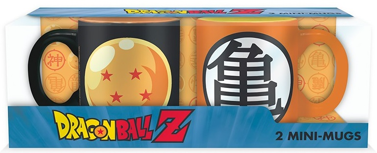 Набор кружек Dragon Ball Z: Crystal Ball & Kame (110 мл) 10pcs set dragon ball z crystal ball action figure collection figures toys for christmas gift brinquedos with retail box