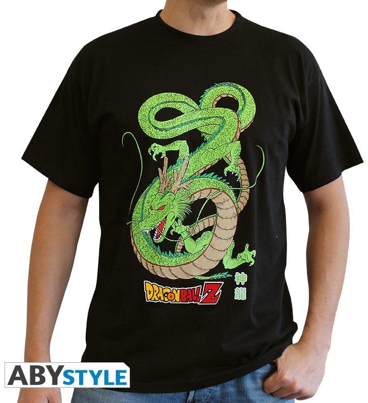 Футболка Dragon Ball Z: Shenron (черный)На футболке Dragon Ball Z: Shenron черного цвета размера S изображен дракон Shenron.<br>