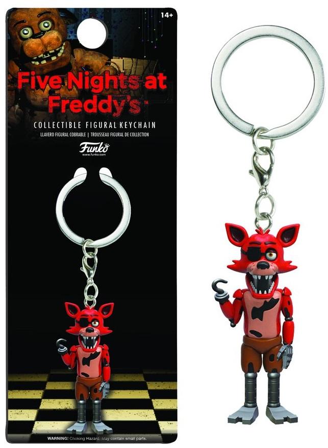 Брелок Five Nights At Freddys: FoxyБрелок Five Nights At Freddys: Foxy воплощает собой одного из персонажей игры Five Nights at Freddys (Пять ночей у Фредди).<br>