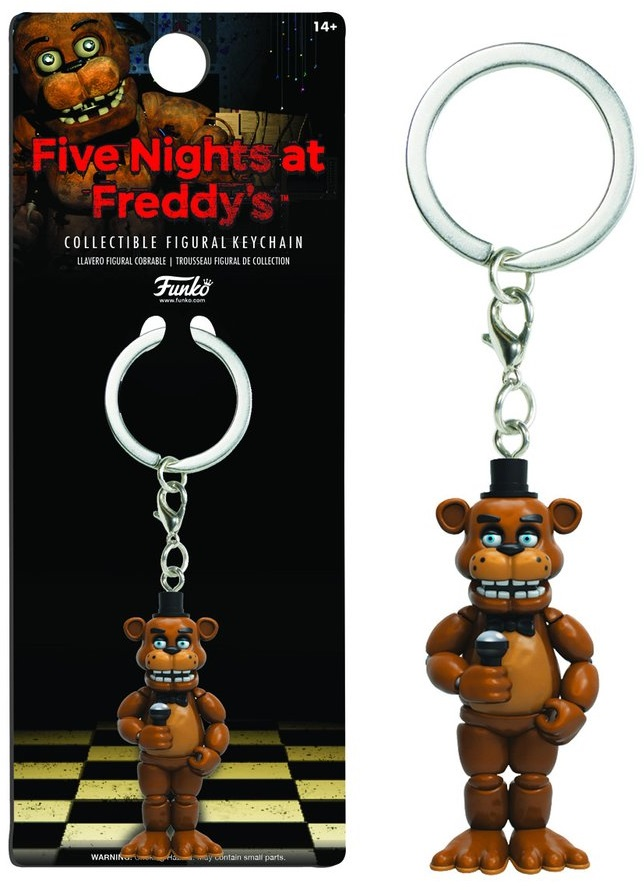 Брелок Five Nights At Freddys: FreddyБрелок Five Nights At Freddys: Freddy воплощает собой одного из персонажей игры Five Nights at Freddys (Пять ночей у Фредди).<br>