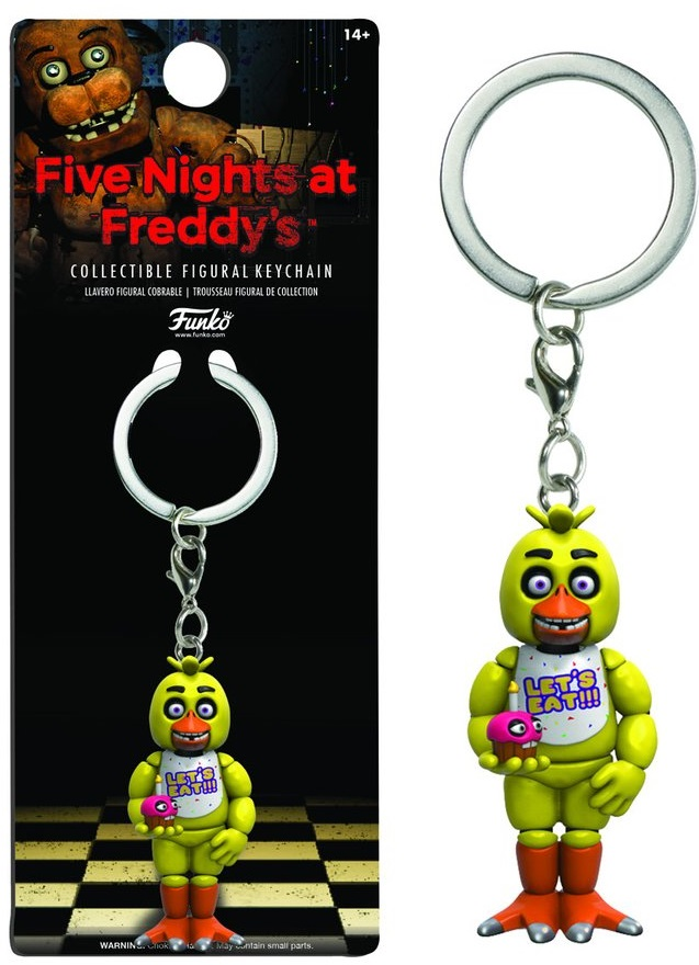 Брелок Five Nights At Freddy's: Chica фото