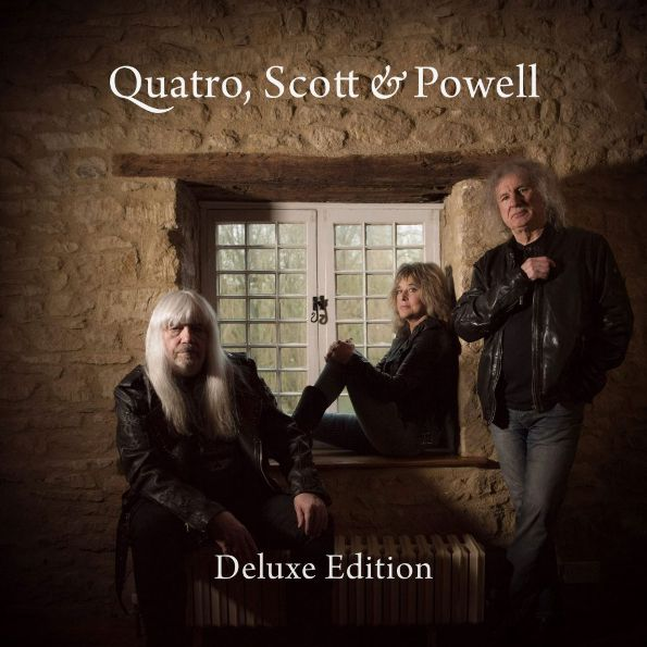 Quatro, Scott & Powell – Quatro, Scott & Powell (CD) quatro scott powell quatro scott powell quatro scott powell deluxe edition 2 lp