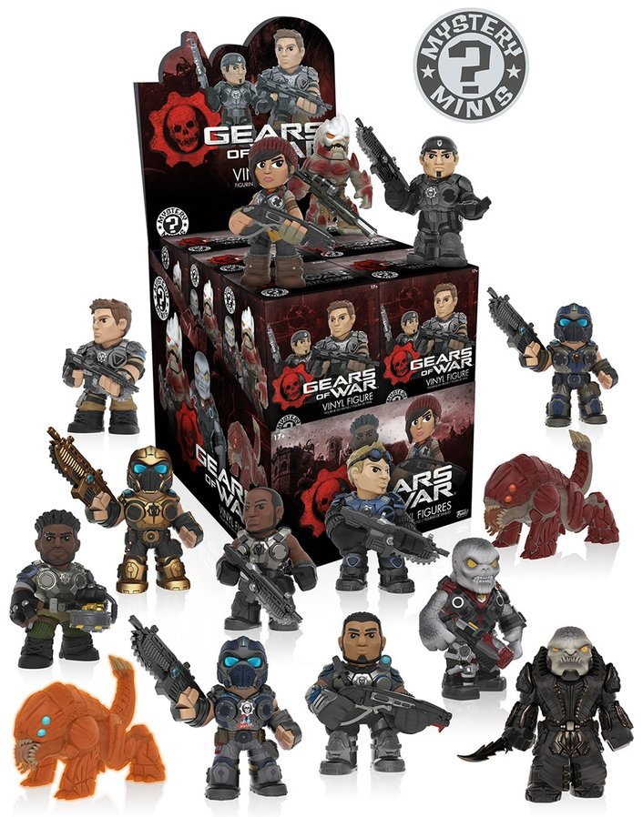 Фигурка Mystery Mini: Gears Of War (в ассортименте) фигурка funko pop games gears of war damon baird armored 9 5 см