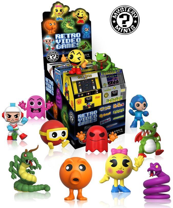 Фигурка Mystery Mini: Retro Video Games (в ассортименте)Фигурки Mystery Mini: Retro Video Games созданы по мотивам ретро-видеоигр.<br>