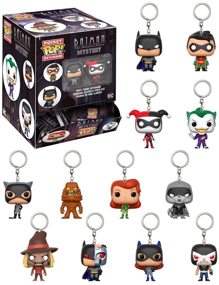 Брелок Funko POP Batman: The Animated Series (в ассортименте)Брелоки Funko POP Batman: The Animated Series созданы по мотивам серии комиксов вселенной DC.<br>