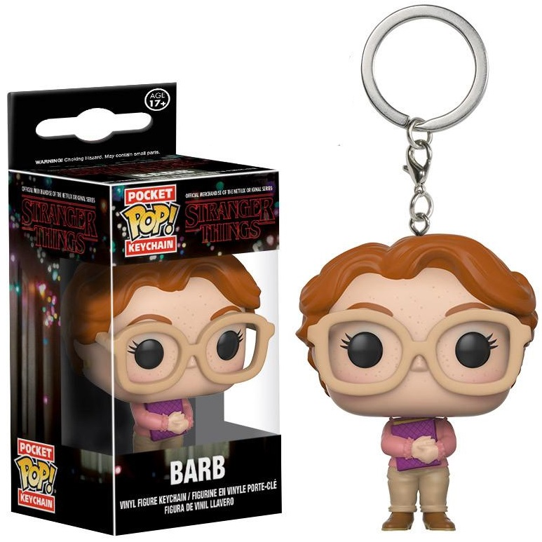 Брелок Funko POP Stranger Things: Barb the book of barb a celebration of stranger things iconic wing woman