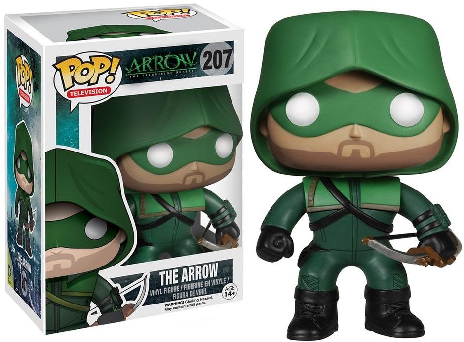 Фигурка Funko POP Television Arrow: The Arrow (9,5 см) фигурка funko pop animation one piece portgas d ace 9 5 см