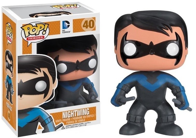 Фигурка Funko POP Heroes DC Comics: Nightwing (9,5 см) dc comics машинка batcycle