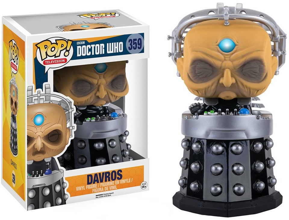 Фигурка Funko POP Television Doctor Who: Davros (15 см) сарафаны doctor e сарафан
