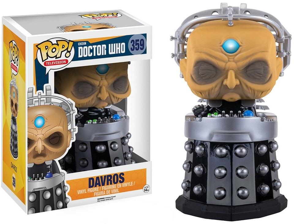 Фигурка Funko POP Television Doctor Who: Davros (15 см)Фигурка Funko POP Television Doctor Who: Davros создана по мотивам культового британского научно-фантастического телесериала «Доктор Кто».<br>