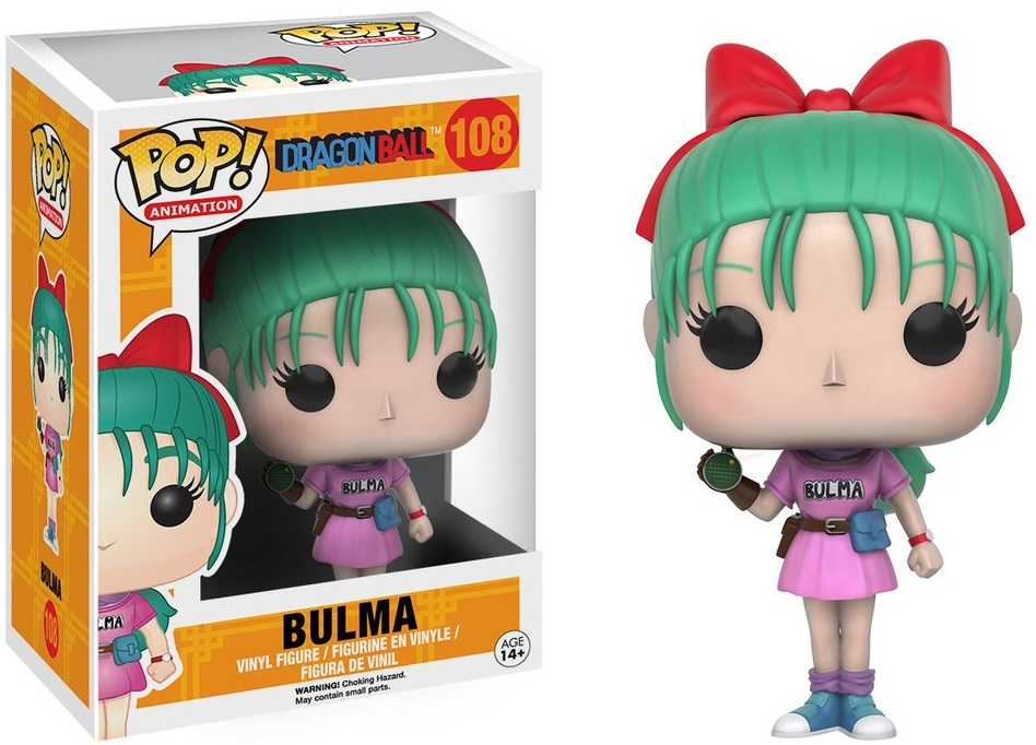 Фигурка Funko POP Animation Dragonball: Bulma (9,5 см) фигурка funko pop animation one piece portgas d ace 9 5 см