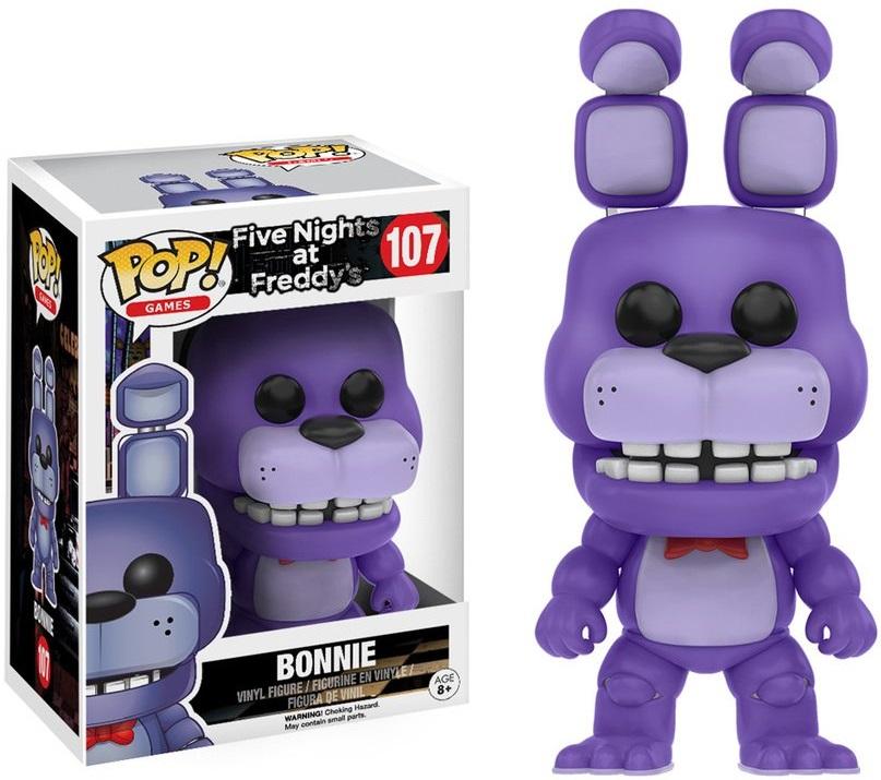 Фигурка Funko POP Games Five Nights At Freddys: Bonnie (9,5 см)Фигурка Funko POP Games Five Nights At Freddys: Bonnie воплощает собой одного из персонажей игры Five Nights at Freddys (Пять ночей у Фредди).<br>