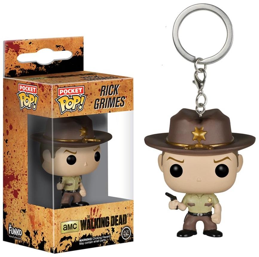 Брелок Funko POP The Walking Dead: Rick Grimes фигурка funko pop television the walking dead negan